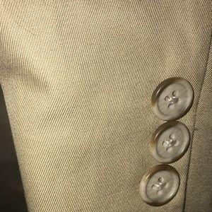 Shanghai Tang Suits & Blazers - Shanghi Custom Tailors Khaki Suit
